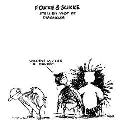 Fokke en Sukke, Diarree