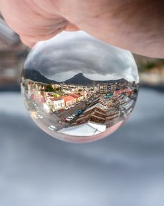 My first attempt with the lensball. Cape Town, South Africa, Photography, Fotografie, Photograph, Fotografia