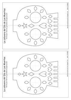 Resultado de imagen para Papel Picado Pattern templates