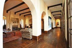 spacious Spanish interior