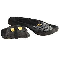 Zinetic Pocket Slippers (For Men and Women) in Black - Tiny and lightweight for backpacking and only $6.95 #studyabroad #rtw #travel