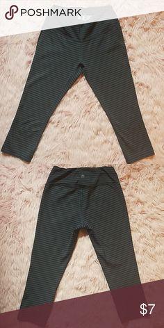 2da2a875737f11 New Balance Atheltic Capri Style Leggings New balance striped capri style  leggings. Size small.