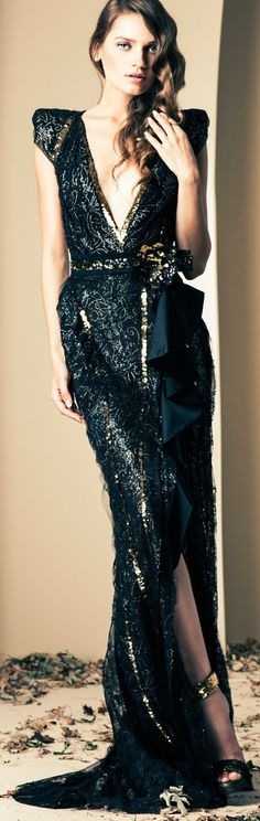 Ziad Nakad 2014 Fall Couture Collection.