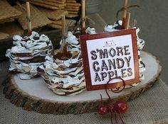 Smores Candy Apples!!!
