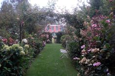 Les jardins d'Angelique, a beautiful garden in Normandy.