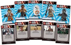 LEGO STAR WARS The Force Awakens Card Set - BB-8 Rey Finn Poe Tie Fighter Pilot for USD12.49 #Collectibles #Trading #Cards #Fighter Like the LEGO STAR WARS The Force Awakens Card Set - BB-8 Rey Finn Poe Tie Fighter Pilot? Get it at USD12.49!