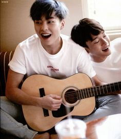Xiumin e Chen EXO ❤️