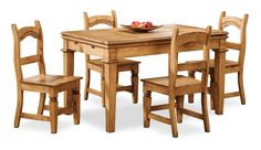 The Santa Fe Rusticos dining set is hand-crafted with dried solid pinewood and hand forged iron hardware by skilled artisans, very much in the same way it was manufactured 500 years ago. Rustic Wood Furniture, Dining Room Furniture, Furniture Making, Furniture Sets, Pine Dining Table, Leaf Table, Dining Set, Wood Source, High Quality Furniture