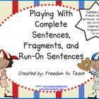 6 days of detailed lesson plans. The lessons are written in an effective worksop format. The lessons are designed to tie in with students' writing. Grammar Sentences, Run On Sentences, Complete Sentences, Teachers Pay Teachers Freebies, Teacher Freebies, Teaching Kids, Teaching Resources, 6th Grade English, Sentence Fragments