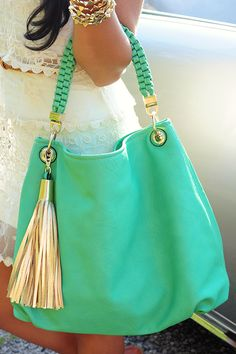 Way You Do Purse: Seafoam …