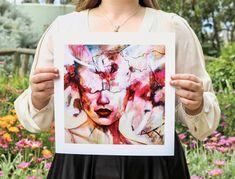 """Tranquility"" Fine Art Print — Tahlia Stanton Fine Art Prints, Canvas Prints, Texture Painting, All Print, Order Prints, Fine Art Paper, Giclee Print, My Arts, Vibrant"