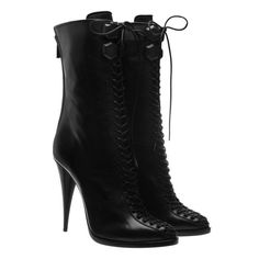 Combat boot stripper heels. I'd never wear these.however, they are hilarious.