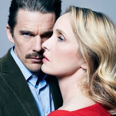 Ethan Hawke & Julie Delpy; always my favorite cinematic couple.