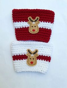 Jazz up your coffee with these cute Christmas coffee sleeves!