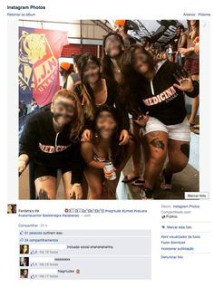 Foto com piadas racistas foi feita pelas estudantes da Uniara durante os jogos universitários das faculdades do curso e divulgada nas redes sociais