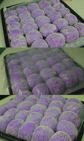 Ube Pandesal (Filipino Purple Yam bread rolls) proofingq Informations About Ube Pandesal (Fil Ube Mochi Recipe, Ube Roll Cake Recipe, Pan De Ube Recipe, Ube Bread Recipe, Pinoy Dessert, Filipino Desserts, Filipino Food, Filipino Dishes, Easy Filipino Recipes