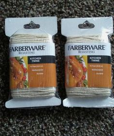 Farberware Roasting Multipurpose Kitchen Twine | Home & Garden, Kitchen, Dining & Bar, Kitchen Tools & Gadgets | eBay!