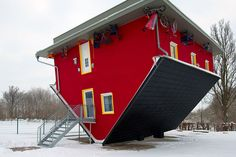 My new house! :p upside down house located at Pirateninsel Rügen, Germany