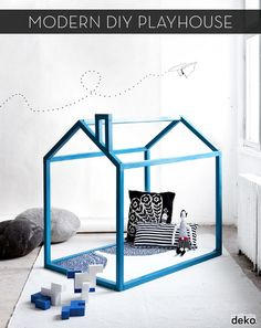#DIY Modern Playhouse