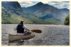 Canoeing & Camping on Loch Shiel, Scotland