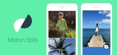 Motion Stills - crea brevi video, clip o GIF su Android