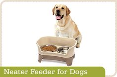#nomessdogbowl from Neater Pet Brands is an advanced designed product.It is very easy to use it.It also gives ease to your pet while eating in it.Get more info by visiting the given link.