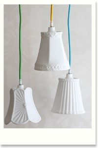 porcelain lampshades