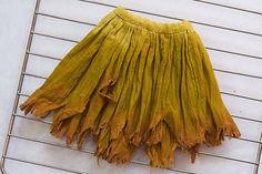 make a fairy skirt with a tattered hemline