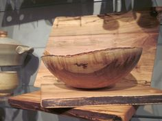 amazing wooden bowl by Spencer Peterman