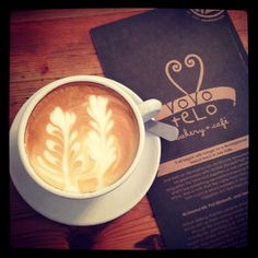 Vovo telo - my favourite coffee shop in port elizabeth I Love Coffee, Coffee Shop, Port Elizabeth, Latte, My Favorite Things, Tableware, Places, Food, Coffee Shops