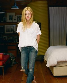Oh No They Didn't! - Elle Fanning in Vanity Fair and Wonderland Magazine…