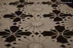 Obrus na szydełku wzór, schemat. Free pattern, crochet, tablecloth