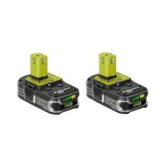 18-Volt ONE+ Lithium-Ion Compact Lithium+ Battery Pack 1.5Ah (2-Pack)
