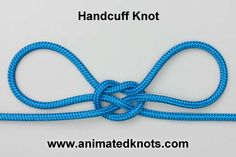 Tutorial on Handcuff Knot Tying