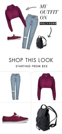 """Fashion"" by mirela-r13 on Polyvore featuring Topshop, River Island and Vans"