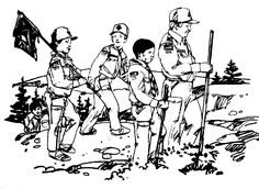Cub Scout Coloring Page Pages