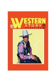 'Western Story Magazine: Western Style' Print (Unframed Paper Print 20x30)