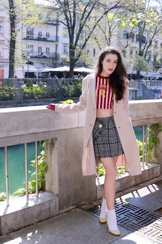 Fashion blogger Veronika Lipar of Brunette From Wall Street sharing how how to wear summer clothes on a cold spring day