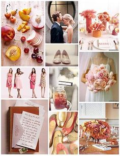 #Inspiration #Board inspired by stone fruits