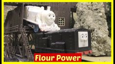 It's Halloween. Thomas and Diesel need to work together to get the flour to the bakery. Accidents will happen. Thomas and Friends in different languages: Tho. Thomas Toys, Thomas And Friends, Halloween Fun, Train, Shit Happens, Thomas The Train, Strollers