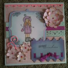 8 x 8 for Amy - inspired by phill Martin !! Thanks phill for all your inspiration x