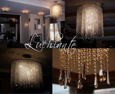 Art Deco crystal chandeliers