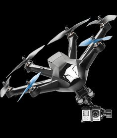 Capable of auto-following and  auto-filming the subject, the Hexo+ is designed for everyone to take  amazing Hollywood-style aerial shots and videos easily. Being able to  fly at a maximum speed of 70km/h, the Hexo+ can be controlled with a few  simple gestures on the smartphone