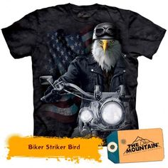 "Biker JD « Epic Shirts - ""This shirt is just a mandatory purchase for people who are bikers. As a biker of course, I have a lot of biker related shirts, but this one tops the list. A definite ""recommend""! Biker T-shirts, Harley Davidson, Steampunk, Animal Graphic, Plus Size T Shirts, Herren T Shirt, Fantasy, Tshirts Online, Graphic Tees"