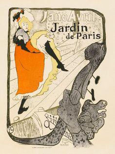 Vintage French Moulin Rouge Henri Toulouse Lautrec Poster Art Print A3 A4