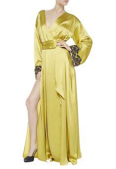 LA PERLA | Maison Robe in Yellow