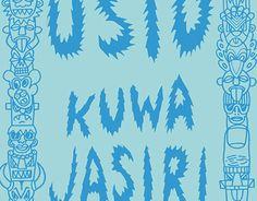 "Check out new work on my @Behance portfolio: ""Kuwa Jasiri"" http://on.be.net/1BMk3s1"