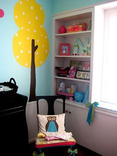 Featured Nursery – baby girl OWLS! « I could totally make that tree... Totally