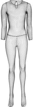 Wow  ShopStyle.com: Saint Laurent Swarovski crystal-embellished stretch-mesh jumpsuit $3,990.00