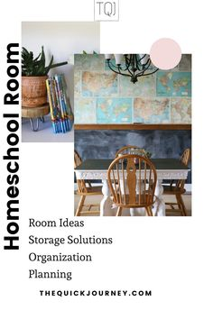 Get great ideas for easy homeschool room set ups, including storage solutions, organization tips, and how you can use your home for your homeschool room. Slow Living, Room Set, Simple Living, Organization Hacks, Storage Solutions, Homeschool, Journey, How To Plan, Tips
